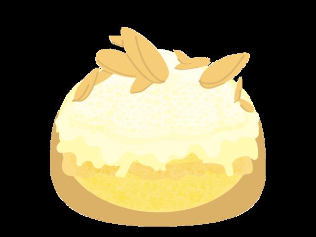 Éclair Frangipane Crème Amande