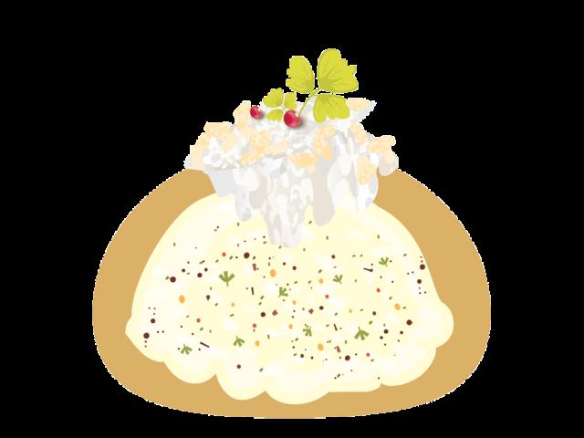 Eclair salé poulet Gorgonzola